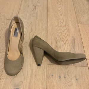 Urban Outfitters Grey Tapered Heels - Sz 9